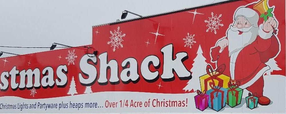 Christmas Shack Southport